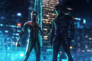 Spider Man Darrdevil 4k