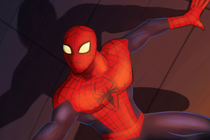 Spider Man Digital Art 4k Wallpaper
