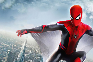 Spider Man Far FromHome Art Wallpaper