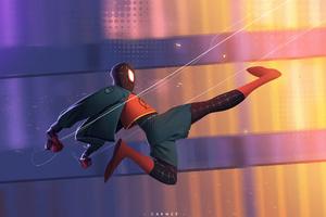 Spider Man Flying Kick Wallpaper