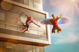 Spider Man Gives You Wings