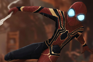 Spider Man Glowing Eyes 4k Wallpaper