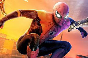 Spider Man Home Run Wallpaper