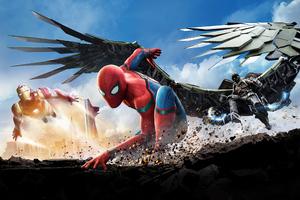 Spider Man Homecoming 2020 Wallpaper