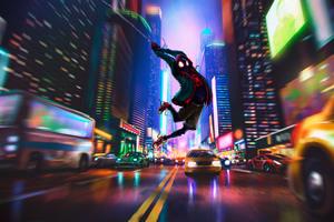 Spider Man In Spider Verse