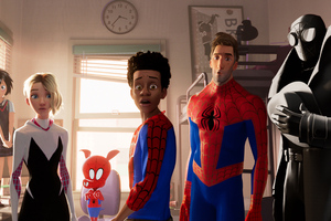 Spider Man Into The Spider Verse New 2018