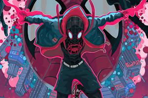 Spider Man Into The Spider Verse Unity 4k