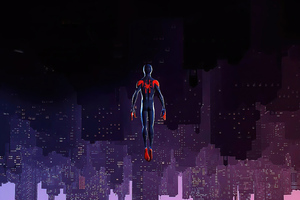 Spider Man Jumping From Heights