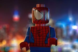 Spider Man Lego 4k
