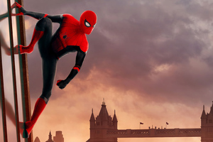 Spider Man London 4k Wallpaper