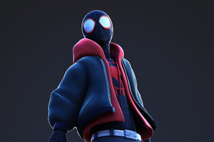Spider Man Looking Away