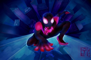 Spider Man Miles Wallpaper