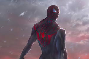 Spider Man Miles 2020 4k Artwork Wallpaper