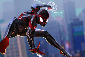 Spider Man Miles 2020 4k Wallpaper