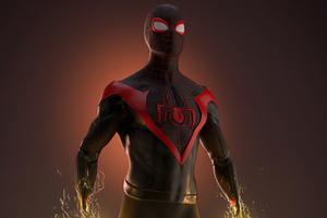 Spider Man Miles 2020 Artwork Wallpaper
