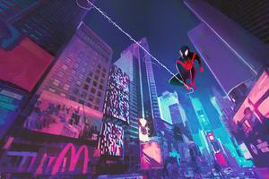 Spider Man Miles City