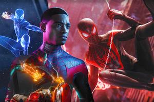 Spider Man Miles Morales 2020 4k