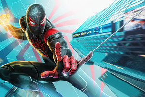 Spider Man Miles Morales 2020 Wallpaper