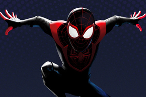 Spider Man Miles Morales 2020 Art Wallpaper