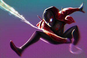 Spider Man Miles Morales Artwork