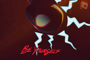 Spider Man Miles Morales Be Yourself 4k Wallpaper
