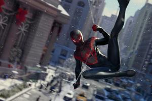 Spider Man Miles Morales Game