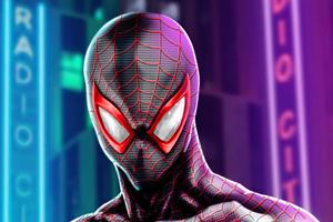 Spider Man Miles Morales In PS5 4k