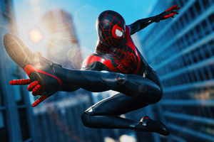 Spider Man Miles Morales Marvel 2020 Wallpaper