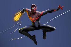 Spider Man Miles Morales Marvel 4k