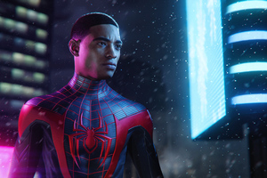 Spider Man Miles Morales Ps5 Wallpaper