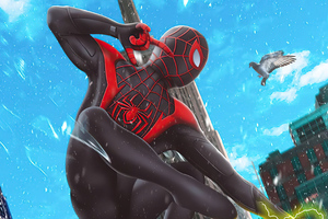 Spider Man Miles Morales Ps5 4k Wallpaper