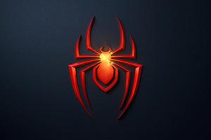 Spider Man Miles Morales Ps5 Game Logo 4k