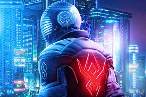 Spider Man Miles Morales X Cyberpunk 2077 4k Wallpaper