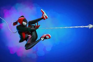 Spider Man Miles Web Shooter Artwork
