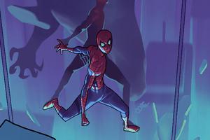 Spider Man Mirror