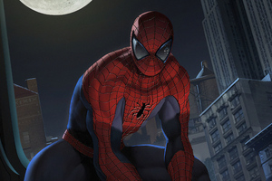 Spider Man Moon