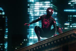 Spider Man Neon Wallpaper