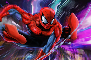 Spider Man New Colorful 4k Wallpaper