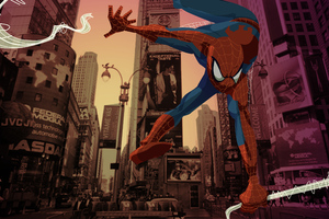 Spider Man New York