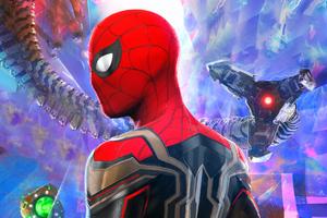 Spider Man No Way Home Empire Poster 4k Wallpaper