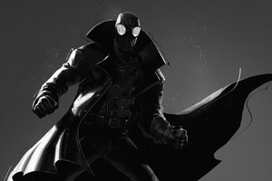 Spider Man Noir 5k Wallpaper