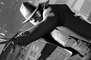 Spider Man Noir Wallpaper