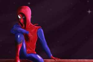 Spider Man On Wall