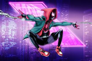 Spider Man On Way 4k Wallpaper