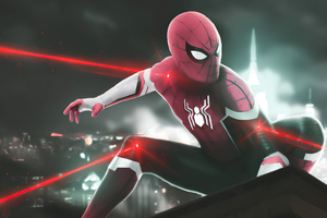 Spider Man Red Suit 4k 2020