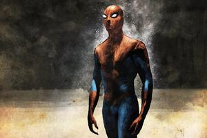 Spider Man Sketch Art
