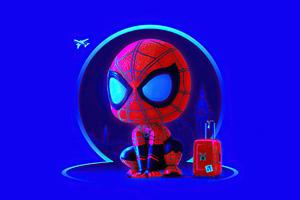 Spider Man Suitcase