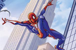 Spider Man Swing 2020 4k