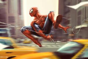 Spider Man Through Manhattan