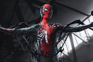 Spider Man Turning Into Venom